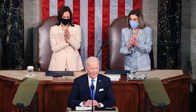 Joe Biden Tells Congress: 'We Have to Prove Democracy Still Works'