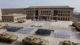 U.S. commander says China tried to sneak into American military base in Africa