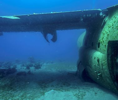 Workers found a plane at the bottom of a California lake, possibly solving a 56-year-old mystery