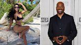 Kim flaunts toned body in revealing black bikini amid Van Jones dating rumors
