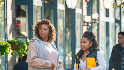 The Equalizer 's Laya DeLeon Hayes Calls TV Mom Queen Latifah a Mentor: We Got to 'Create a Bond'