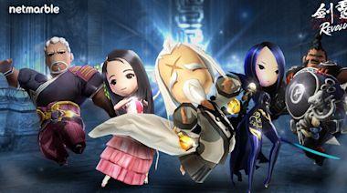《劍靈:革命》全新夥伴「守護神靈」和幫助玩家成長的「神靈之塔」登場