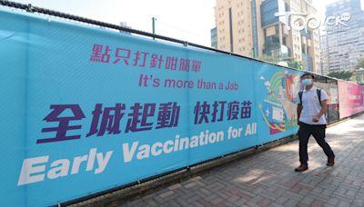 【新冠疫苗】今日1.15萬人打針 累計達68%人口已打首針 - 香港經濟日報 - TOPick - 新聞 - 社會
