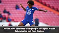 Arsenal confirm Willian free transfer