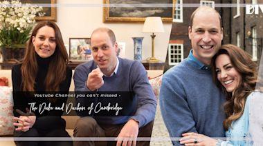 威廉王子與凱特王妃進軍YouTube!開設官方YouTube頻道,12小時引來近17萬訂閱!