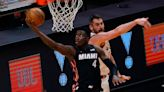 An update on Miami Heat guard Victor Oladipo as he considers options with injured knee
