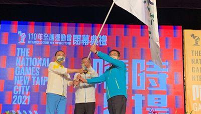 110年全國運動會南市寫下歷年最多獎牌數紀錄黃偉哲市長接旗歡迎選手112年再戰臺南 | 蕃新聞
