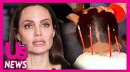 Salma Hayek Reveals Angelina Jolie Crashed Her Birthday Party