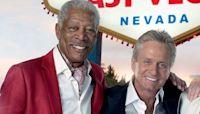 Michael Douglas, 75, wishes Morgan Freeman a happy 83rd birthday
