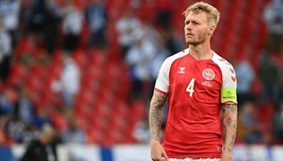 Captain Kjaer, a rock for Denmark in Eriksen trauma