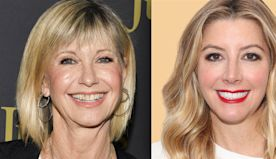 Olivia Newton-John's iconic 'Grease' costume is sold — to Spanx founder Sara Blakely!