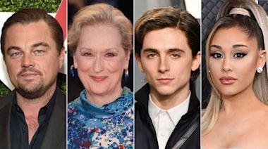 Leonardo DiCaprio, Meryl Streep, Timothée Chalamet & Ariana Grande Team Up for New Netflix Comedy