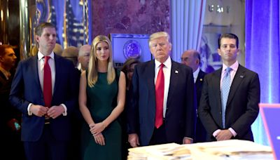 Donald Trump's Adult Children Are Still Costing Taxpayers Thousands Of Dollars A Day