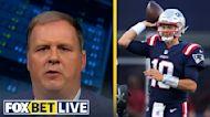 Mac Jones will lead the Patriots to over 10 wins this season – Cousin Sal | FOX BET LIVE