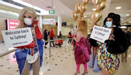 Australia advises caution overseas when border opens Monday
