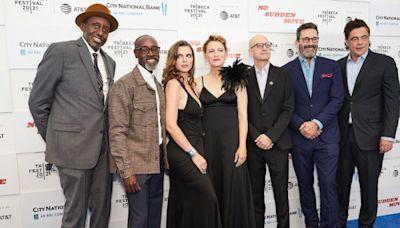 Don Cheadle and 'No Sudden Move' Co-Stars Celebrate With In-Person Premiere at Tribeca Festival