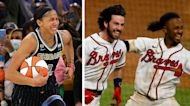 The Rush: Sky make WNBA history, Braves walk off and Cowboys win OT thriller