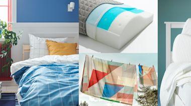 IKEA涼感好物推薦!千元有找的涼感床包、被套組…省電費必備,體感降溫就靠它