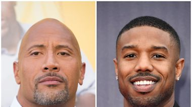 Dwayne Johnson refuses to 'concede' as Michael B Jordan named 'Sexiest Man Alive'