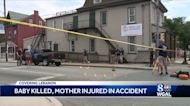 Baby killed, mother injured after being hit by vehicle in Lebanon