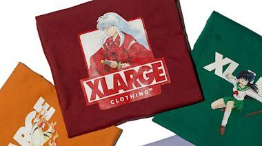 XLARGE 推出經典動漫《犬夜叉》全新聯名 T-Shirt 系列