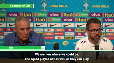 Tite not happy with Brazil's draw with Senegal
