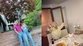 泫雅與Dawn慶祝4週年紀念日~甜蜜好氣色全靠蜜桃粉唇色|唇膏推薦