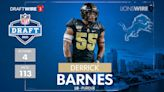 Derrick Barnes: What scouting reports said before the draft about the Lions LB