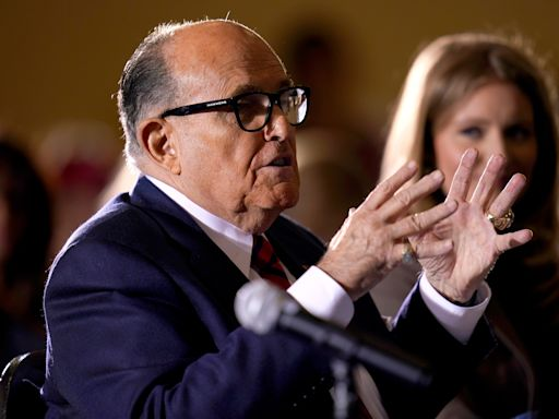'Your election is a sham': Giuliani tells Pennsylvania 'I know crooks really well' as he appears in Gettysburg