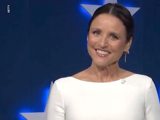 Julia Louis-Dreyfus spoofs Rudy Giuliani while announcing 'Veep' virtual table read