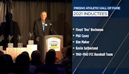 Ceremony held to honor 2021 inductees for Fresno Athletic Hall of Fame
