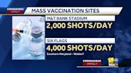Maryland to ramp up number of shots at mass vaccination sites