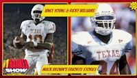 Vince Young & Ricky Williams — Mack Brown shares his favorite stories