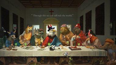中國畫師用動物暗喻G7領袖 網友解讀:諷刺美德法貌合神離 | 蘋果新聞網 | 蘋果日報