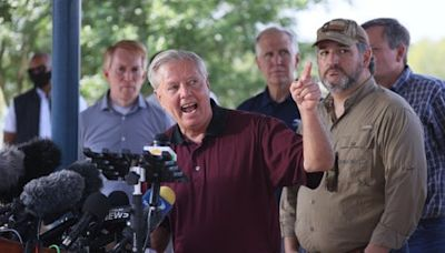 'Why don't you do your job?': Lindsey Graham hits out after being asked what Republicans would do to fix border crisis