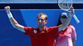 Olympics-Tennis-Djokovic dominant as heat woes prompt schedule change