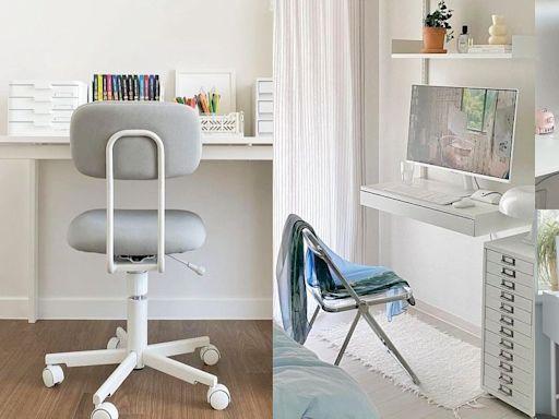 房間變樣品屋!10款韓系清新『IKEA書桌椅』辦公、吃飯化妝多功能,防疫延長必備!