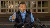 Sen. Ted Cruz toured migrant facility in Dallas