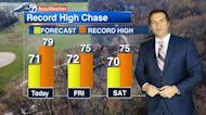 Chicago's warm weather streak to continue through weekend