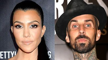 Travis Barker Gushes Over Kourtney Kardashian and Her Love Note