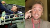 Tom Felton reassures fans he's 'on the mend' after golf course collapse