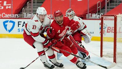Live updates: Hurricanes face Detroit Red Wings in Jordan Staal's 1,000th game