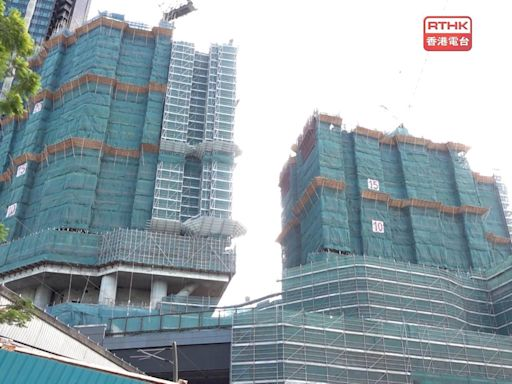 柏傲莊三期兩幢大廈拆卸重建 屋宇署稱已收發展商報告 - RTHK