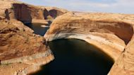 Sunken boats in Arizona's Lake Powell emerge due to megadrought