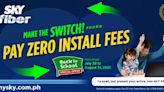 Sky Fiber offers free installation fees in its Back-to-School promo