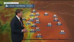 Crisp and cool overnight for southern Colorado