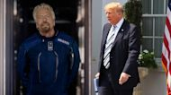 Branson blasts off this weekend, and Trump sues over censorship