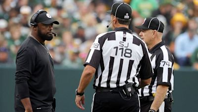 Mike Tomlin on late-game review: I wouldn't say I got clarity, but I'm not going discuss it further