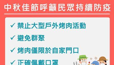 中秋節不群聚 南市禁止大型烤肉