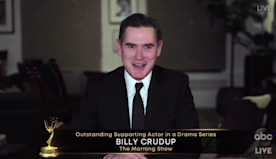 Billy Crudup Asks Young People to 'Save Us' While Accepting Supporting Actor in a Drama at 2020 Emmys